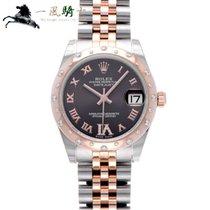 Rolex Lady-Datejust Stål 31mm Brun