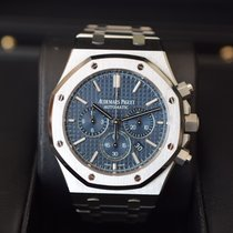 Audemars Piguet Royal Oak Chronograph Zeljezo 41mm Plav-modar
