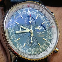 Breitling Montbrillant new 2000 Automatic Chronograph Watch with original box and original papers A19030