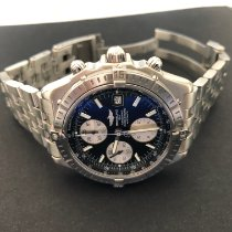 Breitling Crosswind Racing Steel 43mm Black Roman numerals