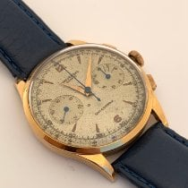 Universal Genève Compax 124103 Very good Rose gold 37,5mm Manual winding