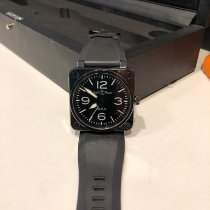 Bell & Ross BR 01-92 Céramique 46mm Noir Arabes France, Sannois