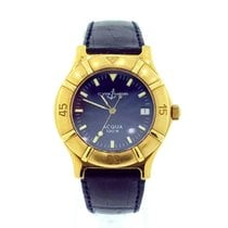 Ulysse Nardin Yellow gold Automatic Blue 33mm pre-owned