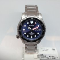 Citizen Titanium Automatic Blue No numerals 42mm new Promaster