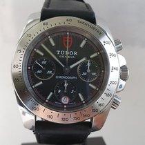 Tudor Sport Chronograph Acier 41mm Noir Sans chiffres