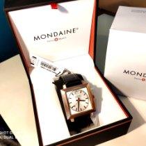 Mondaine Evo Rose gold 38mm White No numerals