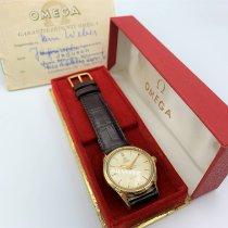 Omega Seamaster Gelbgold 34mm Arabisch