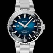 Oris Aquis Date Steel 39.5mm Blue United States of America, California, Burlingame