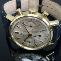 Zenith Zenith Chronograph, vintage, 1966, 18Kt. Gelbgold, verschraubtes Gehäuse, Top Sehr gut Gelbgold Handaufzug Deutschland, Iserlohn