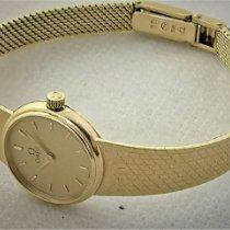 Omega 101E Gelbgold 1984 18.5mm gebraucht