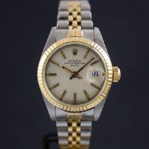 Rolex Lady-Datejust Acero y oro 26mm Plata Sin cifras España, Barcelona