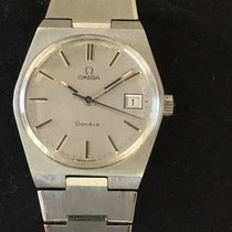 Omega Genève Steel 40mm Silver No numerals