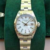 Rolex Oyster Perpetual Lady Date Acier 26mm Blanc Romains France, Brive