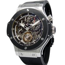 Hublot Bigger Bang Platinum 44mm Transparent No numerals