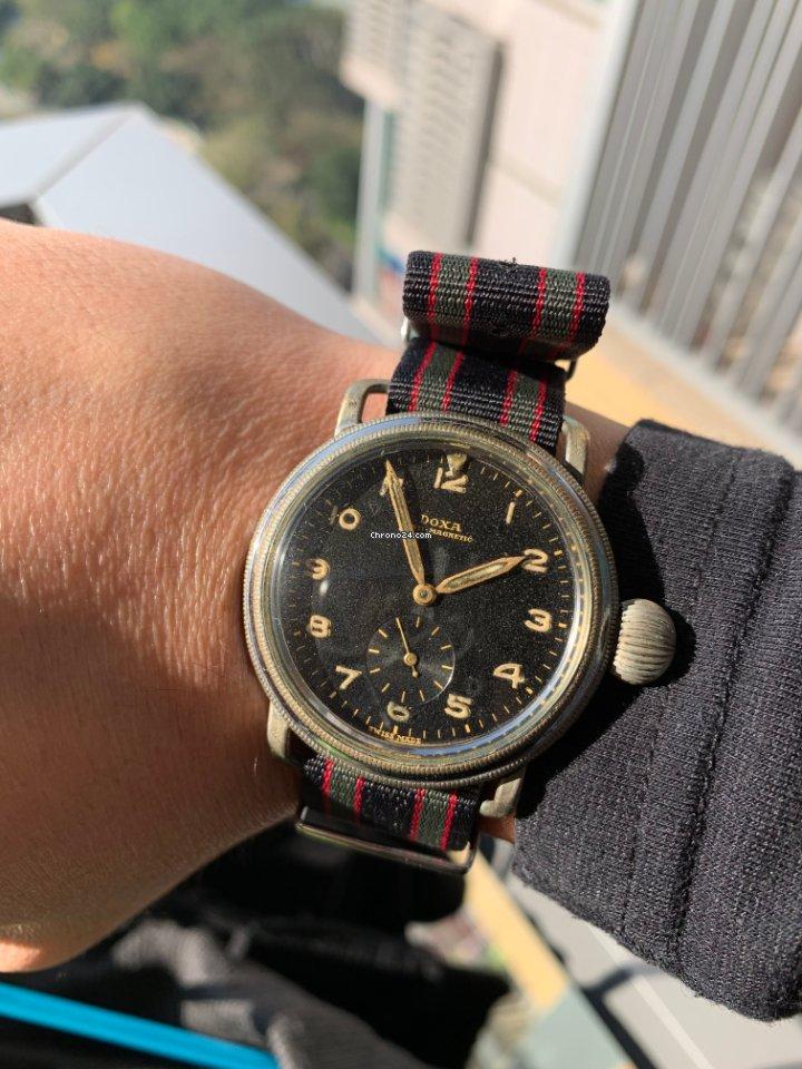 Doxa doxa German military watch 1950 pre-owned