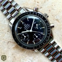 Omega Speedmaster Reduced Stål 39mm Sort