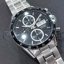 TAG Heuer Carrera Calibre 16 Steel 41mm Black No numerals United States of America, California, Pasadena