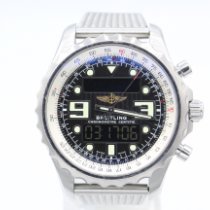 Breitling Chronospace Steel 48mm Grey Arabic numerals United States of America, New York, New York