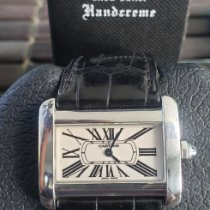 Cartier Tank Divan Steel Roman numerals United States of America, California, Long Beach