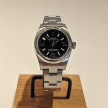 Rolex Oyster Perpetual 26 Steel 26mm Silver Arabic numerals United States of America, Indiana, INDIANAPOLIS