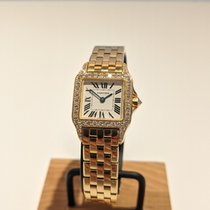 Cartier Santos Demoiselle Yellow gold Silver