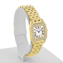 Cartier Santos Demoiselle pre-owned Silver Yellow gold