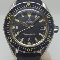 Omega Seamaster 300 Steel 42mm Black Arabic numerals