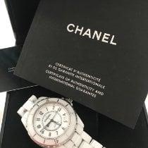 Chanel J12 Céramique 38mm Blanc Arabes