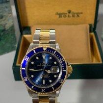 Rolex Submariner Date Gold/Stahl 40mm Blau Keine Ziffern Deutschland, mönchengladbach