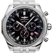 Breitling Bentley Barnato Steel 49mm Black No numerals United States of America, New Jersey, Edgewater