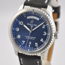 Breitling Navitimer 8 Steel 41mm Blue Arabic numerals United States of America, Ohio, Mason
