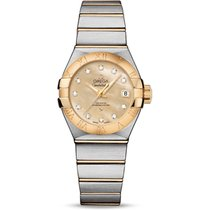 Omega Constellation Ladies new 2019 Automatic Watch with original box and original papers 123.20.27.20.57.002