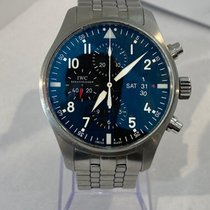 IWC IW377704 Steel Pilot Chronograph 43mm pre-owned United States of America, Florida, Miami