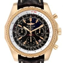 Breitling Bentley Motors Yellow gold 49mm Black