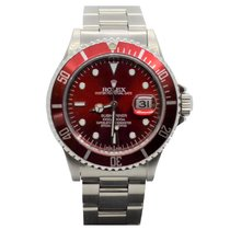 Rolex Submariner Date Steel 40mm Red No numerals United States of America, California, Sylmar