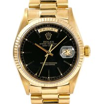 Rolex Day-Date 36 Yellow gold 36mm Black No numerals United States of America, California, Sylmar
