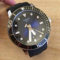 Tissot Seastar 1000 Zeljezo 43mm Plav-modar Bez brojeva