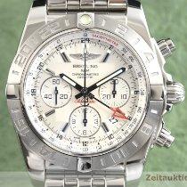Breitling Chronomat 44 GMT Stahl 44mm Silber Deutschland, Chemnitz