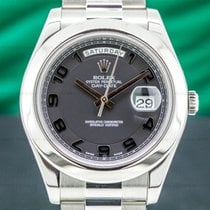 Rolex Day-Date II Platinum 41mm Black