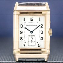 Jaeger-LeCoultre Rose gold Manual winding Arabic numerals 26mm pre-owned Reverso (submodel)