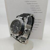 Cartier Pasha Seatimer Acero 40mm Negro Arábigos