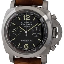 Panerai Luminor 1950 3 Days Chrono Flyback Steel 44mm Black United States of America, Texas, Austin