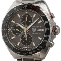 TAG Heuer Automatic Grey 44mm pre-owned Formula 1 Calibre 16