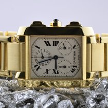 Cartier Geelgoud 28mm Quartz 1830 tweedehands Nederland, Goor