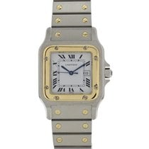 Cartier Santos Galbée Steel 29mm White United States of America, New York, New York