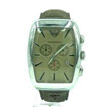 Armani Steel Quartz orologio Emporio Armani Classic Chronograph AR0908 new