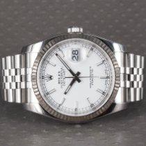 Rolex Datejust 116234 Sehr gut Stahl 36mm Automatik