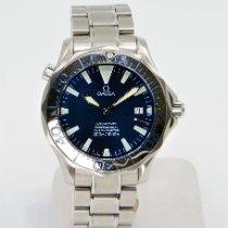 Omega 2255.80.00 Steel 2001 Seamaster Diver 300 M 41mm pre-owned