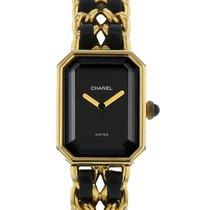 Chanel Quartz Black 20mm pre-owned Première