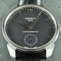 Tissot T-Complication pre-owned 43mm Black Leather